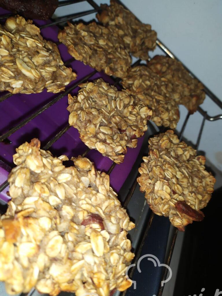 Ciasteczka owsiane dla leniwych