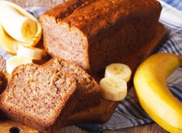 Chlebek bananowy – idealny na śniadanie!