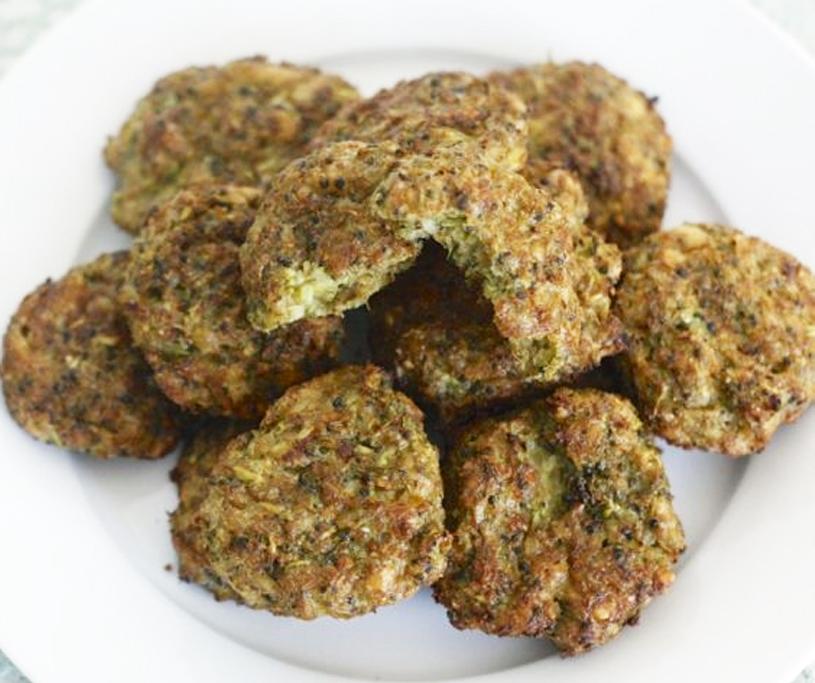 Ciastka brokułowe z serem